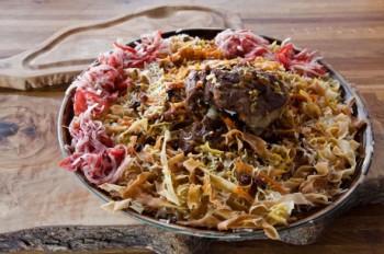 Грузинская кухня: лечкере — холодная закуска из маринованной кольраби