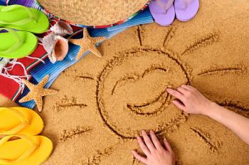 лучшие развивающие игры для детей на пляже