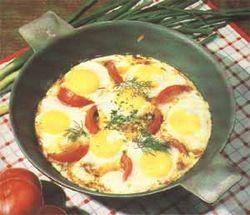 Лучшие и необычные рецепты… яичницы (часть первая)