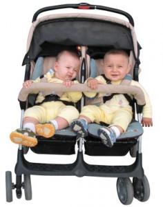 Выбираем коляску для двойни